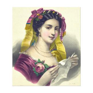 ソネット1850年 キャンバスプリント