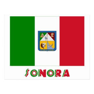 ソノラの非公式な旗 ポストカード