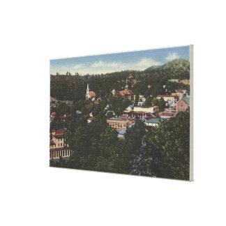 ソノラ、CaliforniaAerial ViewSonora、カリフォルニア キャンバスプリント