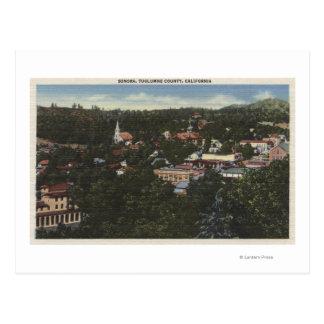 ソノラ、CaliforniaAerial ViewSonora、カリフォルニア ポストカード