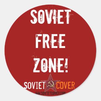 ソビエトカバーステッカー ラウンドシール