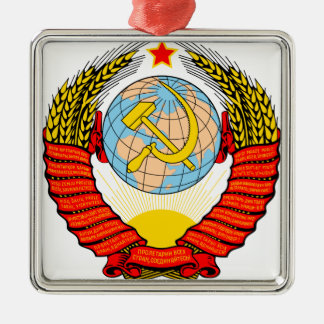 ソビエト懇親会の紋章付き外衣 メタルオーナメント