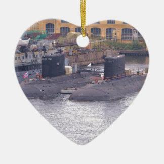 ソビエト攻撃潜水艦 セラミックオーナメント