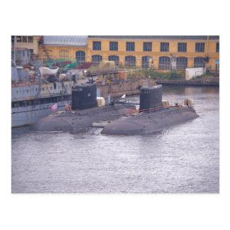ソビエト攻撃潜水艦 ポストカード