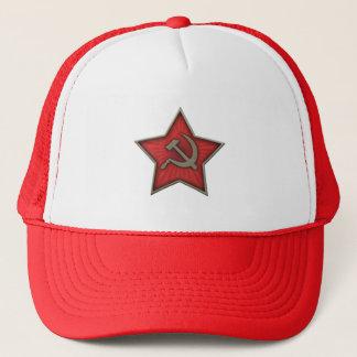 ソビエト星のソ連国旗の共産主義者 キャップ
