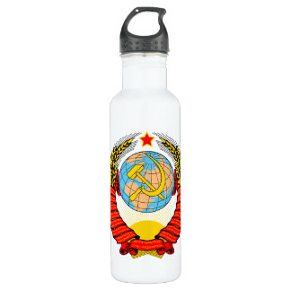 ソビエト社会主義共和国の紋章付き外衣 ウォーターボトル