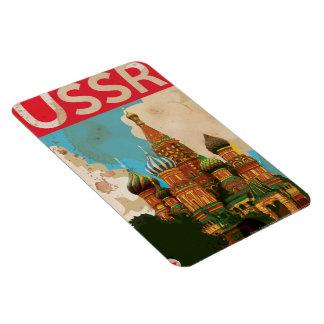 ソビエト社会主義共和国連邦のソビエトヴィンテージ旅行ポスター マグネット