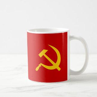 ソビエト社会主義共和国連邦の共産主義のロシアのなソ連国旗 コーヒーマグカップ