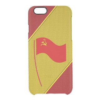 ソビエト社会主義共和国連邦 クリアiPhone 6/6Sケース