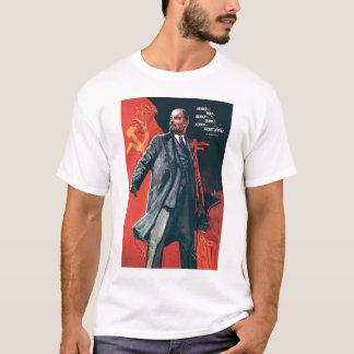 ソビエト社会主義共和国連邦、ロシア語、ソビエト、プロパガンダ、レーニン Tシャツ