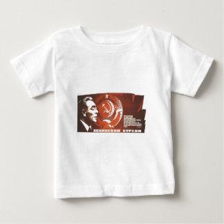 ソビエト社会主義共和国連邦CCCPの冷戦のソビエト連邦のプロパガンダポスター ベビーTシャツ