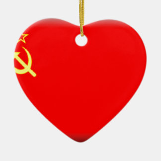 ソビエト連邦の旗 セラミックオーナメント