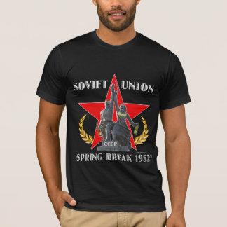 ソビエト連邦の春休み1952年(暗闇) Tシャツ