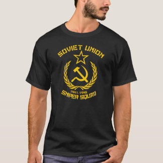 ソビエト連邦の狙撃兵の分隊 Tシャツ