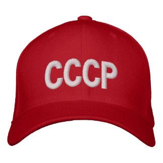 """ソビエト連邦""""CCCP """" 刺繍入りキャップ"""