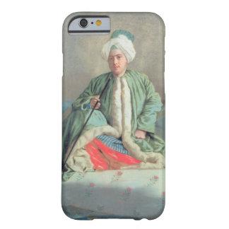 ソファで着席する紳士 BARELY THERE iPhone 6 ケース