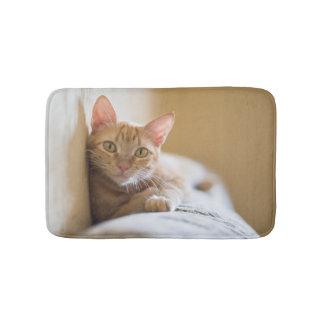 ソファにあっている子ネコ バスマット