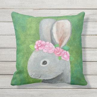 ソファのウサギの芸術のためのかわいいバニーの芸術の装飾用クッション クッション