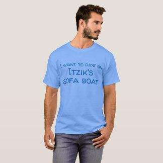 ソファーのボートのティー Tシャツ