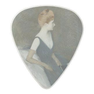 ソファーのマルトLe Tellier Sitting夫人 アセタール ギターピック
