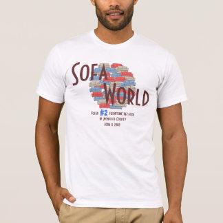 ソファーの世界 Tシャツ