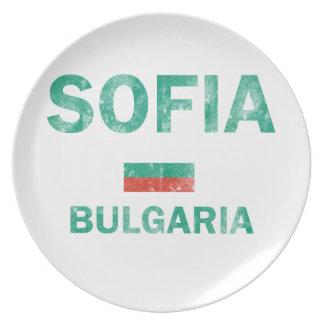 ソフィアブルガリアのデザイン プレート