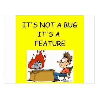 ソフトウェアエンジニア ポストカード