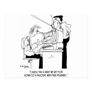 ソフトウェア漫画6821 ポストカード