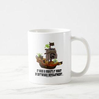 ソフトウェア開発の恐ろしい夜アンドロイド コーヒーマグカップ
