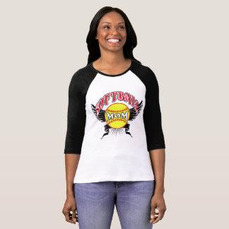 ソフトボールのお母さんのティーのTシャツ Tシャツ
