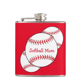 ソフトボールのお母さんのフラスコ フラスク
