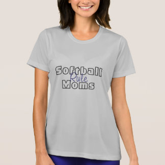 ソフトボールのお母さんの規則のTシャツのティーのスポーツチーム Tシャツ
