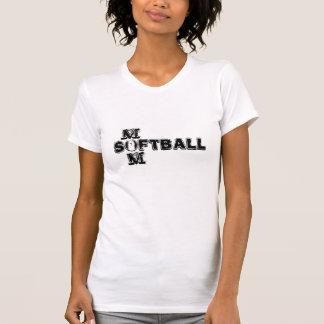 ソフトボールのお母さんタンク Tシャツ