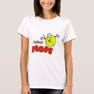 ソフトボールのお母さんII Tシャツ