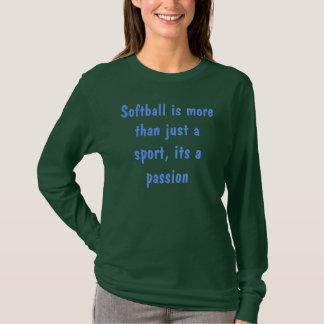 ソフトボールのことわざのワイシャツ Tシャツ