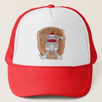 ソフトボールのソックス猿 キャップ