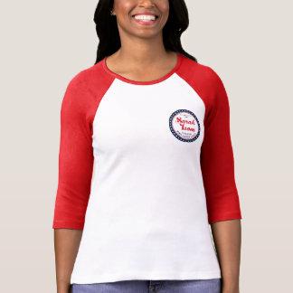 ソフトボールのティー Tシャツ