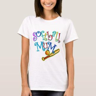 ソフトボールのミイラ Tシャツ