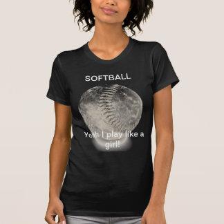 ソフトボールのワイシャツ Tシャツ