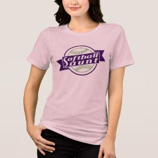 ソフトボールの叔母さんTシャツ Tシャツ