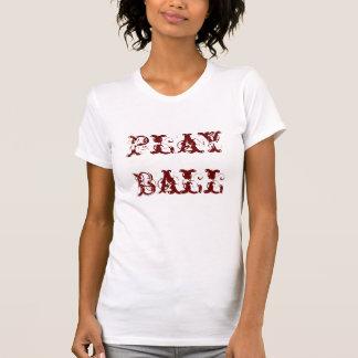 ソフトボールの女性Tシャツ Tシャツ