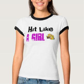 ソフトボールの短い袖のTシャツの上 Tシャツ