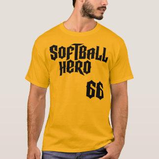ソフトボールの英雄- #66 KirkpatrickのTシャツ Tシャツ