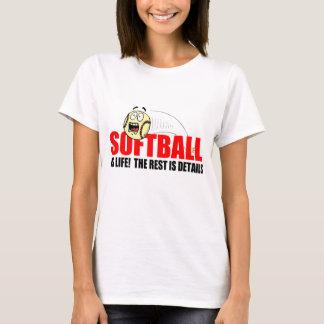 ソフトボールは生命です Tシャツ