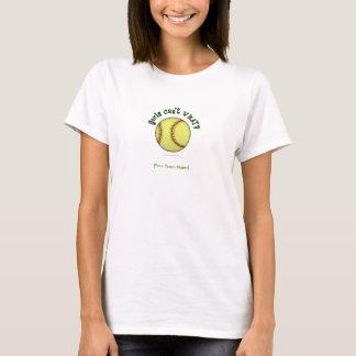 ソフトボール緑 Tシャツ
