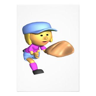 ソフトボール 外野手