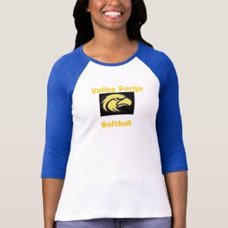ソフトボール、谷の炉 Tシャツ