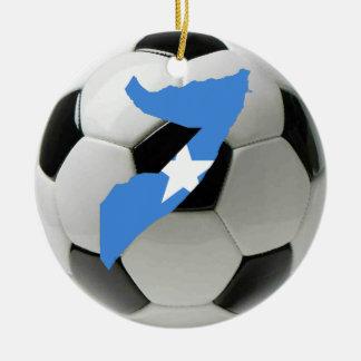 ソマリアのフットボールのサッカーのオーナメント セラミックオーナメント