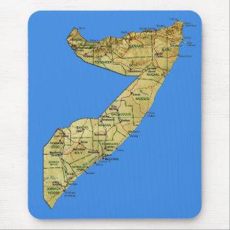 ソマリアの地図のマウスパッド マウスパッド