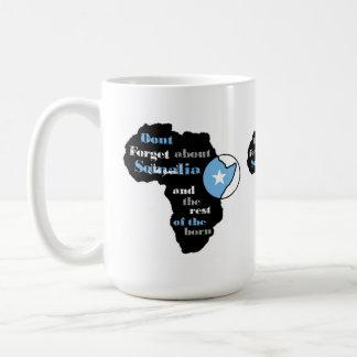 """ソマリアの援助のマグ""""アフリカシリーズ""""はあります コーヒーマグカップ"""